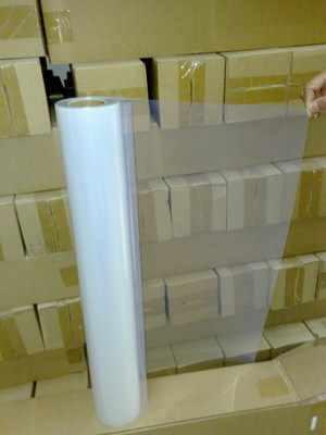 0.71 m * 30 m Susu Inkjet PET film yang jelas