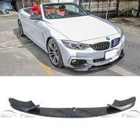 P Style Carbon Fiber Racing Front Lip Splitter for BMW 4 Series F32 F33 M Sport Bumper 2014 UP car accessories car styling