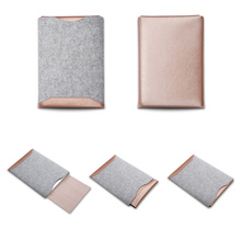Faux Leather (Grey & RoseGold)