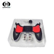 Contrôleur Mobile PUBG 5in1 manette de jeu de téléphone portable/déclencheur L1r1 boutons de feu Pubg pour iPhone Android IOS