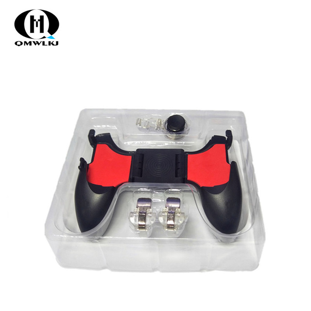 PUBG Mobile Controller 5in1 Mobile Phone Gamepad Joystick / Trigger L1r1 Pubg Fire Buttons For iPhone Android IOS