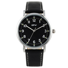 TPW  Mens Analog Quartz Watch leather Strap Wristswatch for Man luxury style casual wearing men watches japan movement