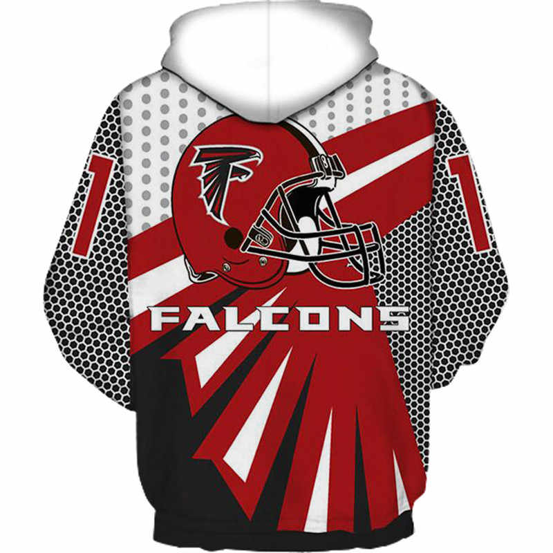 239a30c9 Atlanta Falcons 3D Hoodies Sweatshirts Men Women Autumn Winter Tracksuit  2018 Long Sleeve Hooded Pullover Tops Plus Size Clothes
