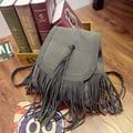 Stacy saco 032516 venda quente best seller lady moda tassel mochila menina bolsa de viagem pequena