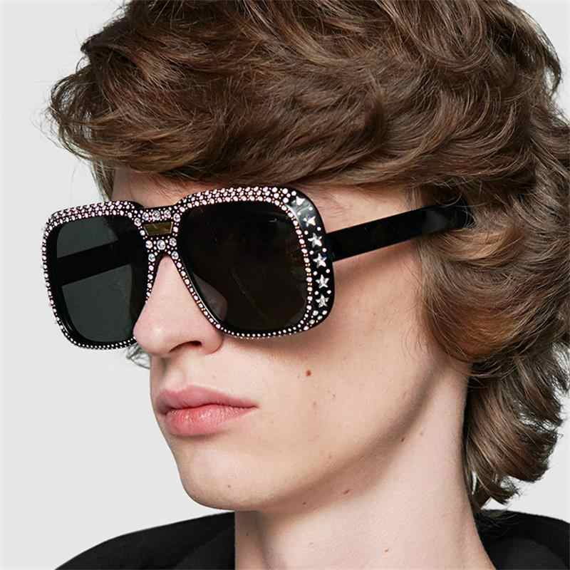 be0bc0fbba Detail Feedback Questions about Big Frame Black Shades Oversized ...