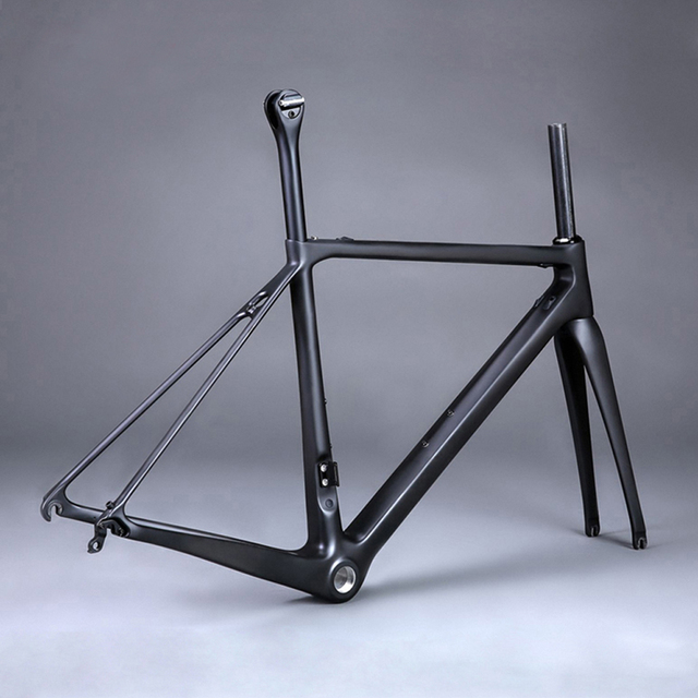 Full Carbon T1000 Fiber Road Bike Frame 700C Bicycle Frameset Carbon  Seatpost U0026 Fork Cycling Parts