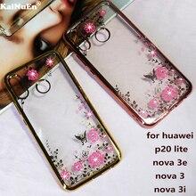 KaiNuEn Роскошные прозрачные мягкие телефон назад etui, coque, чехол, чехол для Huawei p20 lite nova 3 3e 3i силиконовый интимные аксессуары