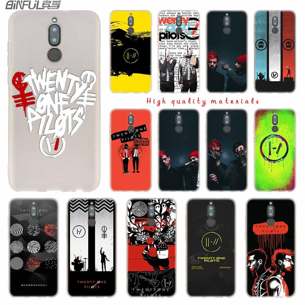 Twenty One Pilots 21 Pilots Music Soft Silicone Cases For Huawei Mate 10 Lite 10 20 Lite Pro 20X S Y5 2017 Y9 2018 2019 NOVA 3 4