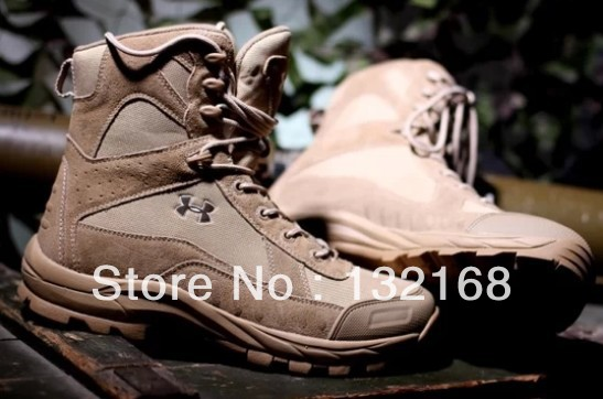 Hot Sale Israel Tactical Combat Desert Boots For Training Military