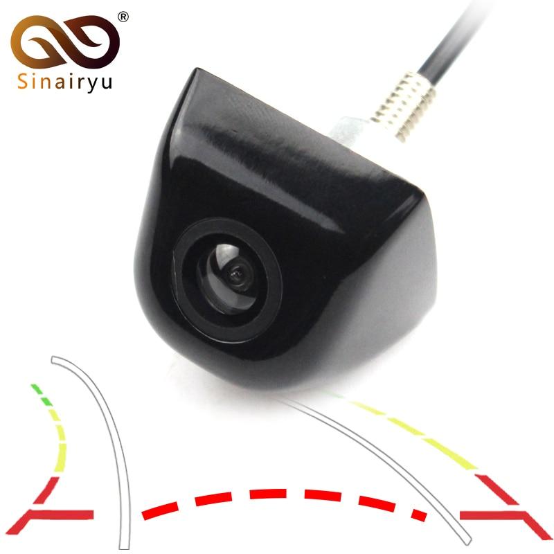 Car Intelligent Dynamic Trajectory Tracks Parking Line Rear View font b Camera b font Reverse Backup