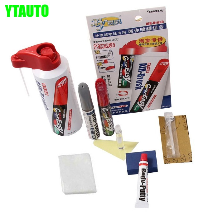 Car scratch repair pen, auto paint pen with tools for BMW 3 series, 5 series, X1,car painting accessory