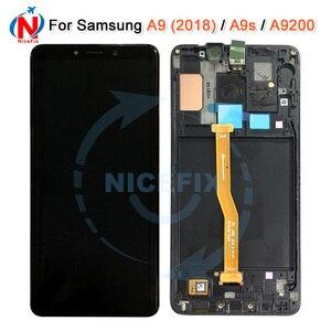 Image 1 - LCD pour Samsung Galaxy A920 A9s A9 2018 A9 étoile Pro affichage écran tactile numériseur affichage pour Samsung A9200 A920F/DS lcd