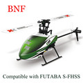 Hot New XK K100 Falcom 6CH Flybarless 3D6G System RC Helicopter BNF RC Toys