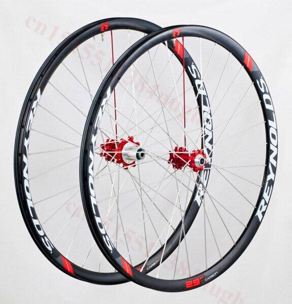 carbon 29er disc brake wheels 6 bolt MTB bicycle wheelset 30mm 35mm width carbon mtb bike wheels 650B 27.5 er