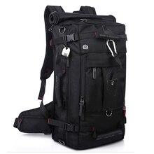 Laptop-Rucksack Umhängetaschen Große Kapazität 40L Männer Gepäck Reisetaschen Hochwertige Wasserdichte Oxford Rucksäcke