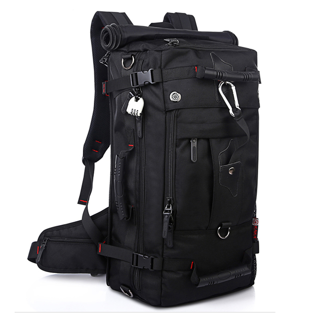 Laptop Backpack Shoulder Bags Large Capacity 40L Men Multifunction Luggage Travel Bags High Quality Waterproof Oxford Backpacks