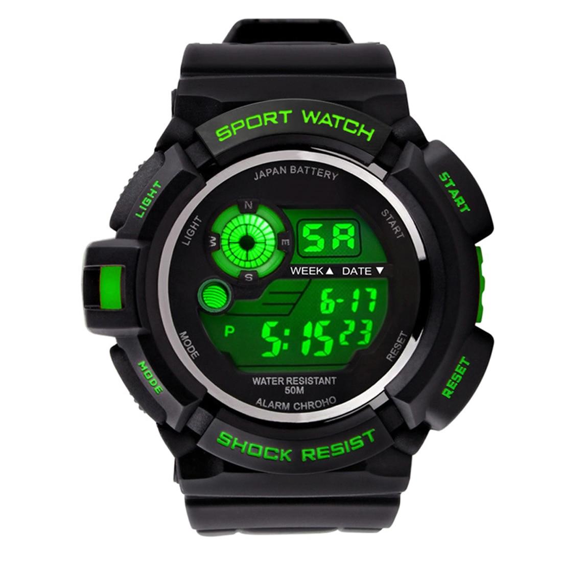 e0ec4c721aa Relógios Desportivos Relógio de Pulso Silicone do Esporte Relógios ao