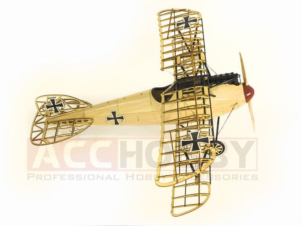 Envío gratis modelo estático, modelos de avión, Albatros D.III - Juguetes de construcción - foto 4