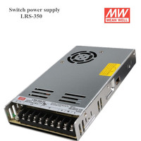 Factory direat sale Meanwell LRS 350 Switching Power Supply 12V 24V 36V 48V 350W Original MW Taiwan Brand LRS 350 24