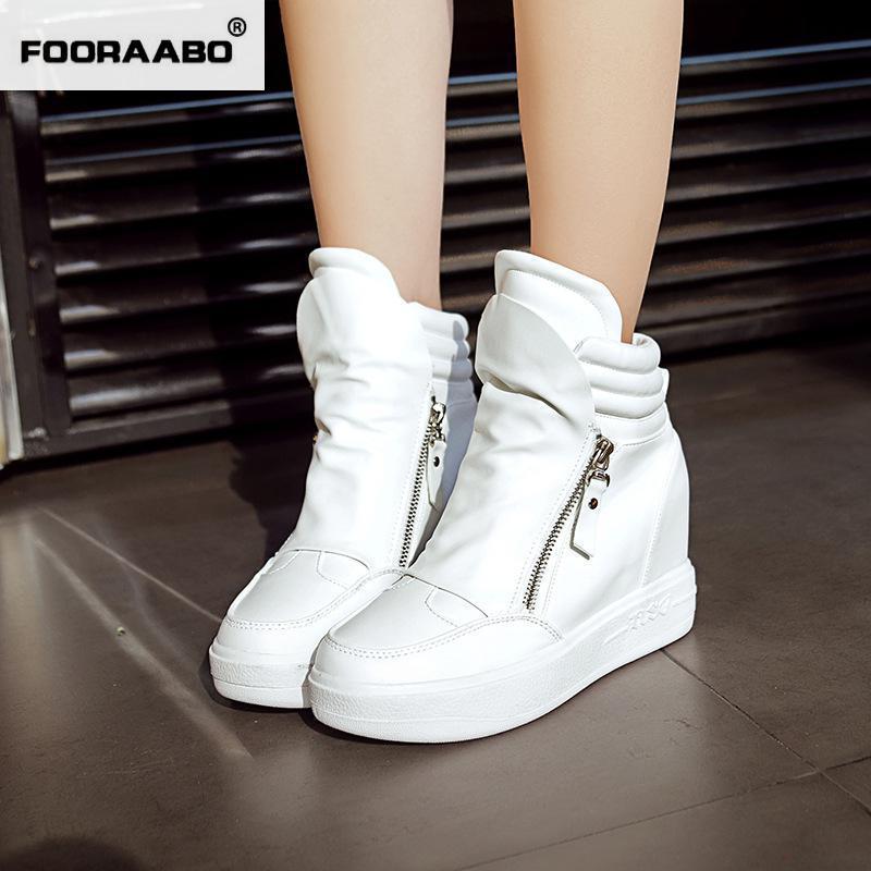 Popular White High Heel Sneakers-Buy Cheap White High Heel ...