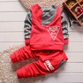 Boy clothes fashion baby boy clothing sets kid Full clothes + trousers suit for children boys kid clothes baby clothing set
