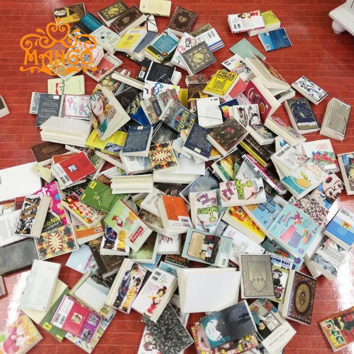 New 1:12 Dollhouse Study Scene Accessories Hand Books Mini Comic Books Magazine 5pcs Free Shipping