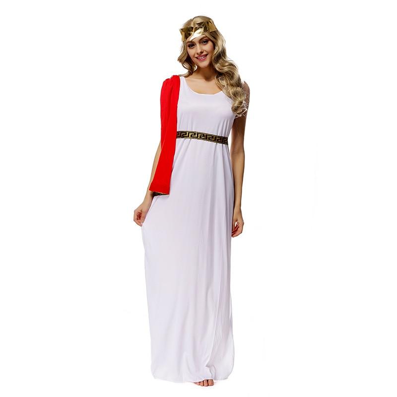 FREE PP Girls Athena Roman Greek Goddess Toga Grecian Fancy Dress ...