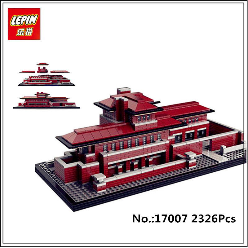 In-Stock Lepin 17007 2326Pcs Genuine Architectures