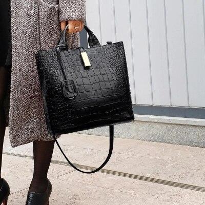 Luxury Bolso Mujer Ladies Brand Leather Handbags Casual Tote Bag Big Shoulder Crossbody Bag For Woman