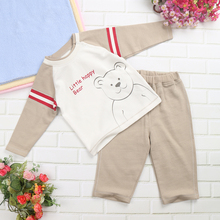 Baby Boys Clothing Set Baby Boy Clothes Outerwear Interloop Baby Fleece Wear Fashion Autumn Winter 100% Cotton Knitted