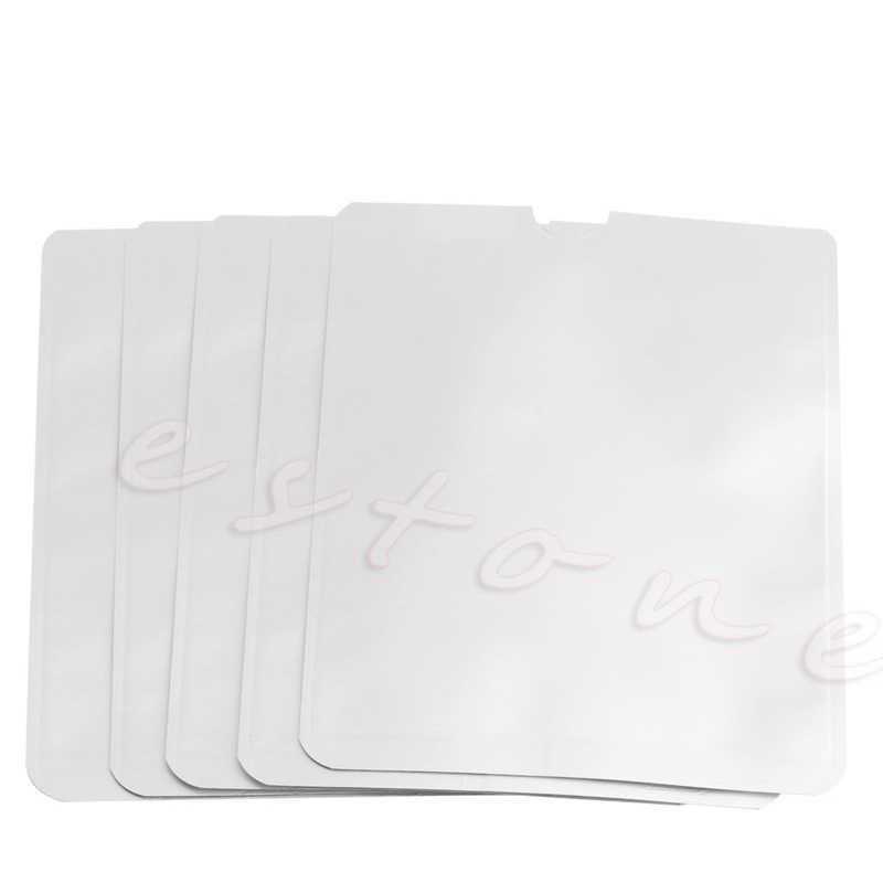 Thinkthendo 5 шт./лот паспорт Secure рукава держатель против сканирования RFID Блокировка Защитная крышка
