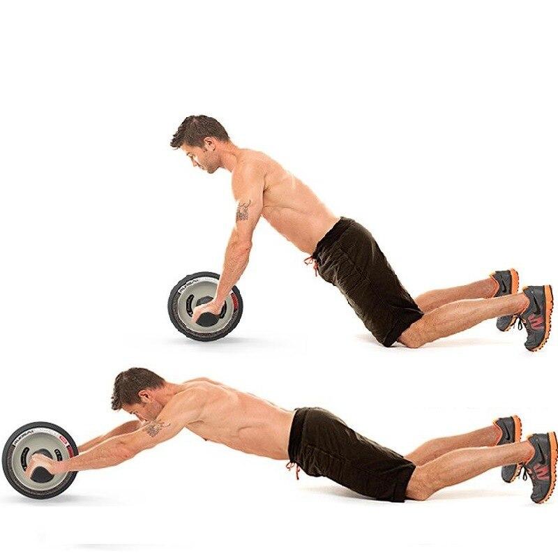 Rueda grande Unisex, equipo deportivo para el hogar, equipo de Fitness, dispositivo de ejercicio Abdominal, rueda Abdominal - 5
