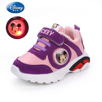 Shoes for kids boys children LED lighted shoes Autumn girls tennis sports shoes Disney toddler sneakers Winter Running Sneakers