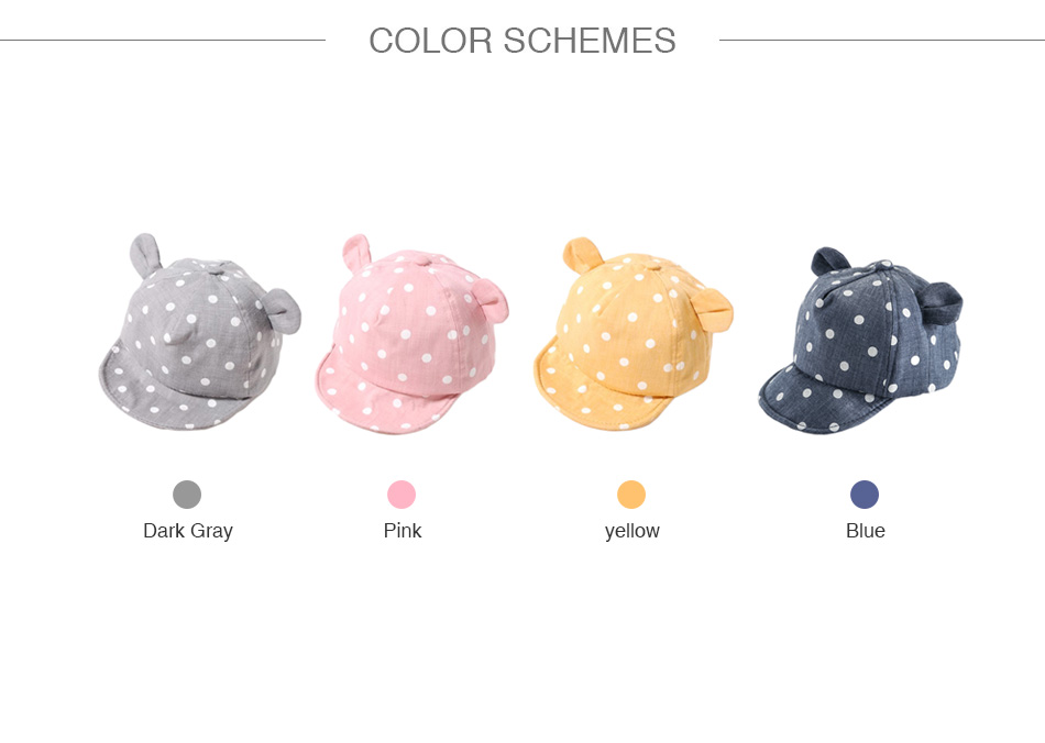 Alioth algodón Sun del bebé sombreros de verano lindo patrón de ...