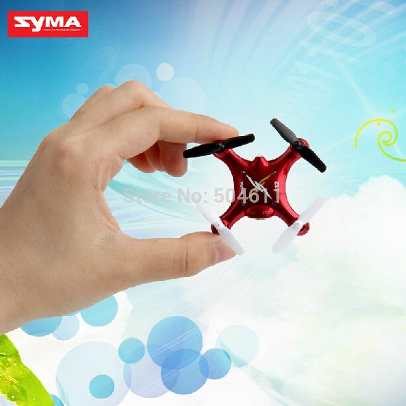 SYMA X12 Nano Explorers 2.4G 4CH 6 Axis RC Quadcopter RTF Micro Quad Copter Drone Toy