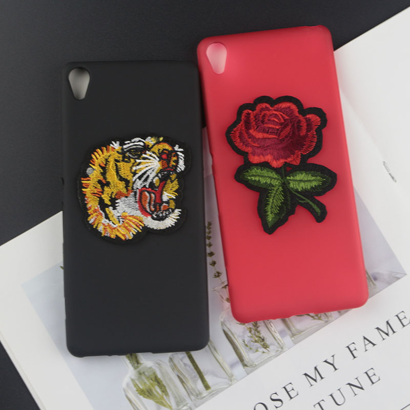 Soft TPU Case for Sony Xperia XA Dual Cases Stitch Kitty Minnie Flower Tiger Bee Pearl Diamond Coffee Milk Phone Cover