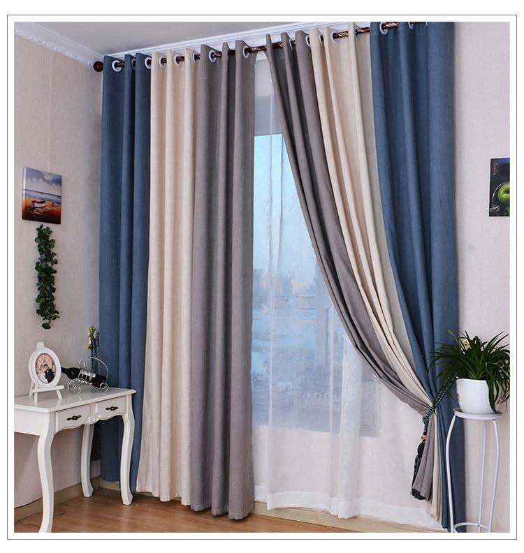 Acquista all'ingrosso online beige tende di lino da grossisti ...