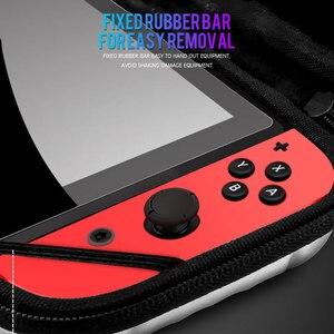 Image 2 - PC Hard Shell Handtasche Für Nintend Schalter Lagerung Fall Wasserdichte Tragbare Schutz Tasche Abdeckung Für Nintendo Schalter Konsole NS
