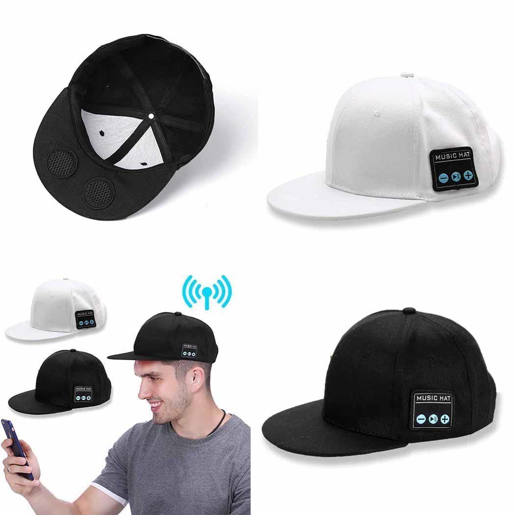 Wireless Bluetooth Stereo Loud Volume Headphones Music 3.7V 1.5H Earphones Cap DW01+8205S Multi-function Hat