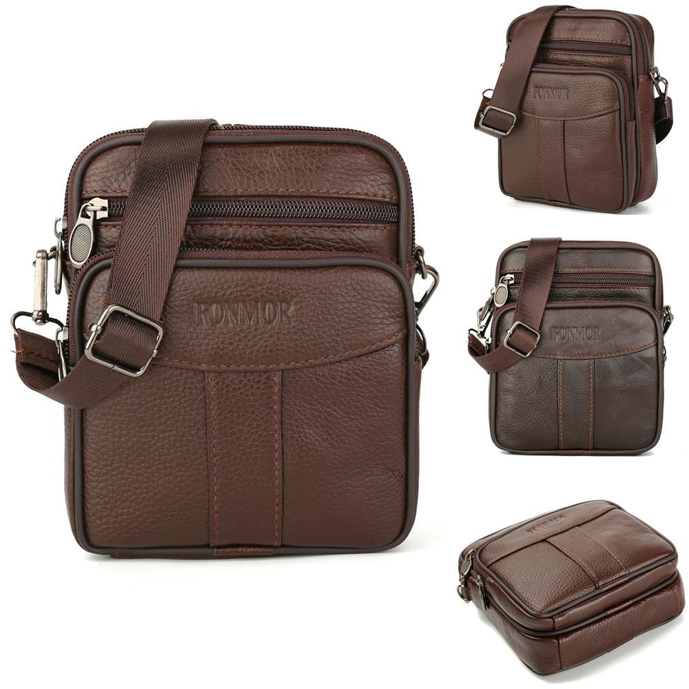 Promotion Designers  Messenger Bags PU Leather Vintage Mens Handbag Man Crossbody Bag For Men Sacoche Homme