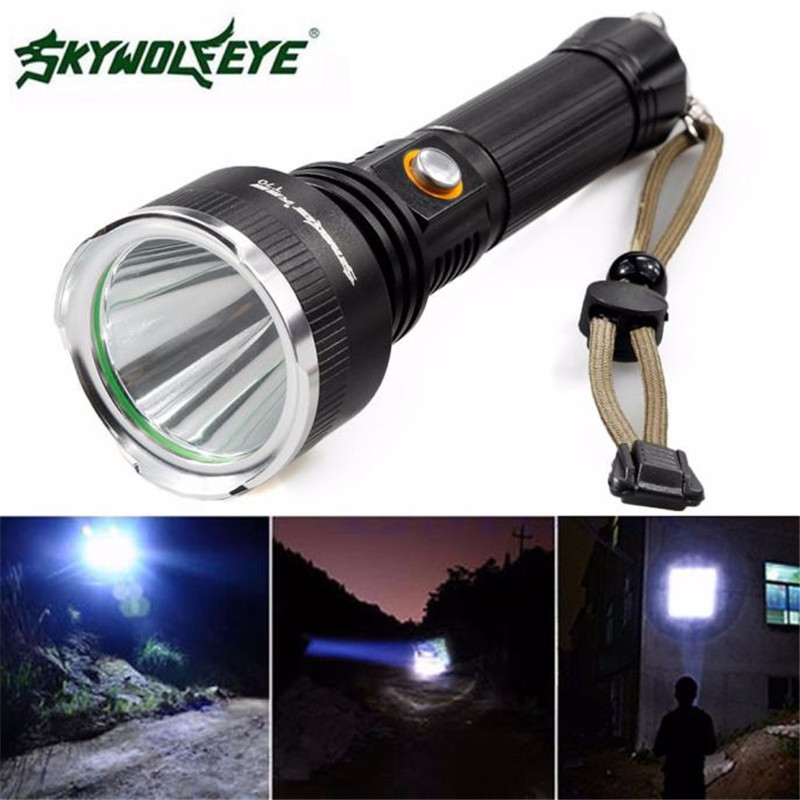 Sky Wolf Eye Cycling Bike Bicycle Front Head Torch 5000 LM XM-L Light Q5 LED 18650 Flashlight 5 Modes Bike Accessories M20 3800 lumens cree xm l t6 5 modes led tactical flashlight torch waterproof lamp torch hunting flash light lantern for camping z93