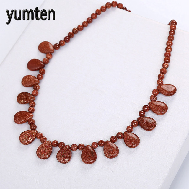 pendants jewellery necklace pendant online blue circular crystals goldstone crystal products