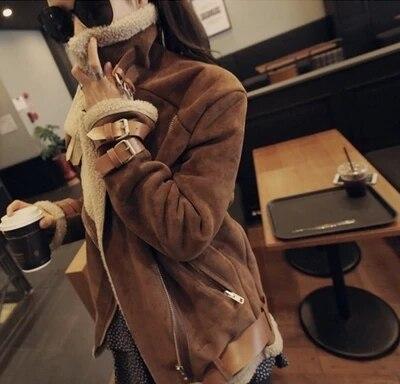 Пальто женщин 2015 Новый Верблюд Овечьей шерсти дешевые парк Turn-обратно воротник Ремень пряжка подробно женские зимние куртки и пальто LA0028