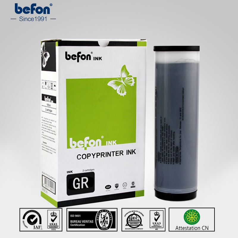 befon Duplicator Ink GR gr ink Compatible for Riso series кондиционер smartway smf 24a suf 24a