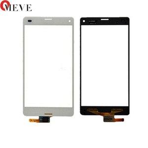 Image 1 - 4.6 מגע עבור Sony Xperia Z3 Z3 מיני קומפקטי D5803 D5833 חיישן עדשת חזית זכוכית פנל Digitizer מסך מגע
