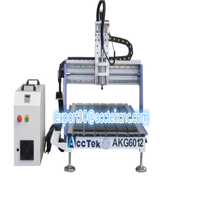 AccTek AKG6012 Hot Sale Mimi Advertising Router 3/4 Axis Cnc Milling And Engraving Machine