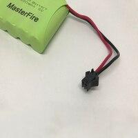 MasterFire 10 حزمة/وحدة جديد 6V AA 1800mah متولى حسن بطارية قابلة للشحن نيمه بطاريات حزمة مع المكونات الأسود-في مجموعات البطاريات من الأجهزة الإلكترونية الاستهلاكية على