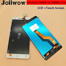 Original FOR Elephone P9000 lcd or p9000 Lite LCD Display+Touch Screen+Toos Digitizer Digitizer Assembly Repair Accessories black white original lcd display digitizer touch screen assembly for elephone trunk 5 0 inches 1280 720