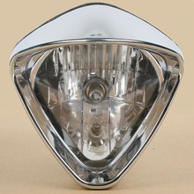 Front Cobra Headlight Lighting For Honda Magna 700 Shadow Spirit ACE VT 1100 750