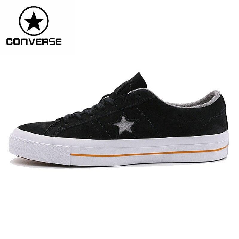 Prix pour Original Nouvelle Arrivée Converse une étoile nubuck Unisexe Planche À Roulettes Chaussures Sneakers